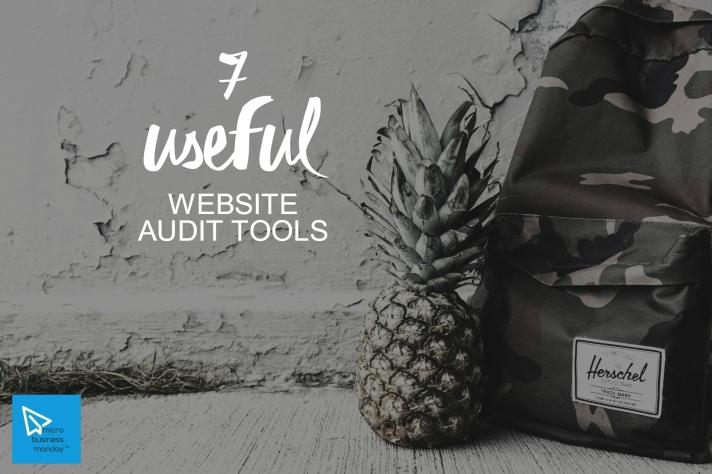 micro business monday website audit tools analytics